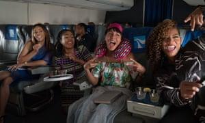 High-flying fun … Girls Trip.