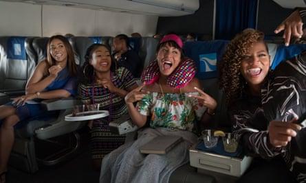 Regina Hall, Tiffany Haddish, Jada Pinkett Smith and Queen Latifah in Girls Trip.