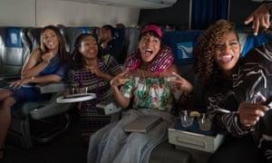 'Eminently lovable': Regina Hall, Tiffany Haddish, Jada Pinkett Smith and Queen Latifah in Girls Trip