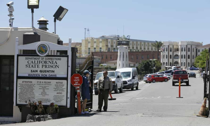 Coronavirus cases are on the rise at San Quentin prison.