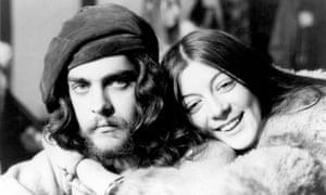 Genesis P-Orridge and Cosey Fanni Tutti in 1969.