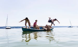 Summer splashing on Ammersee