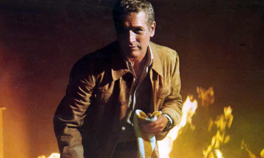 Paul Newman in The Towering Inferno.