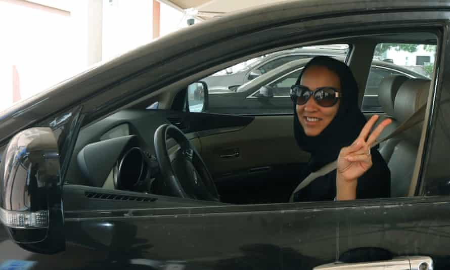 Manal Al-Sharif … 'I felt I was driving for all Saudi women – and, in a sense, I was.'