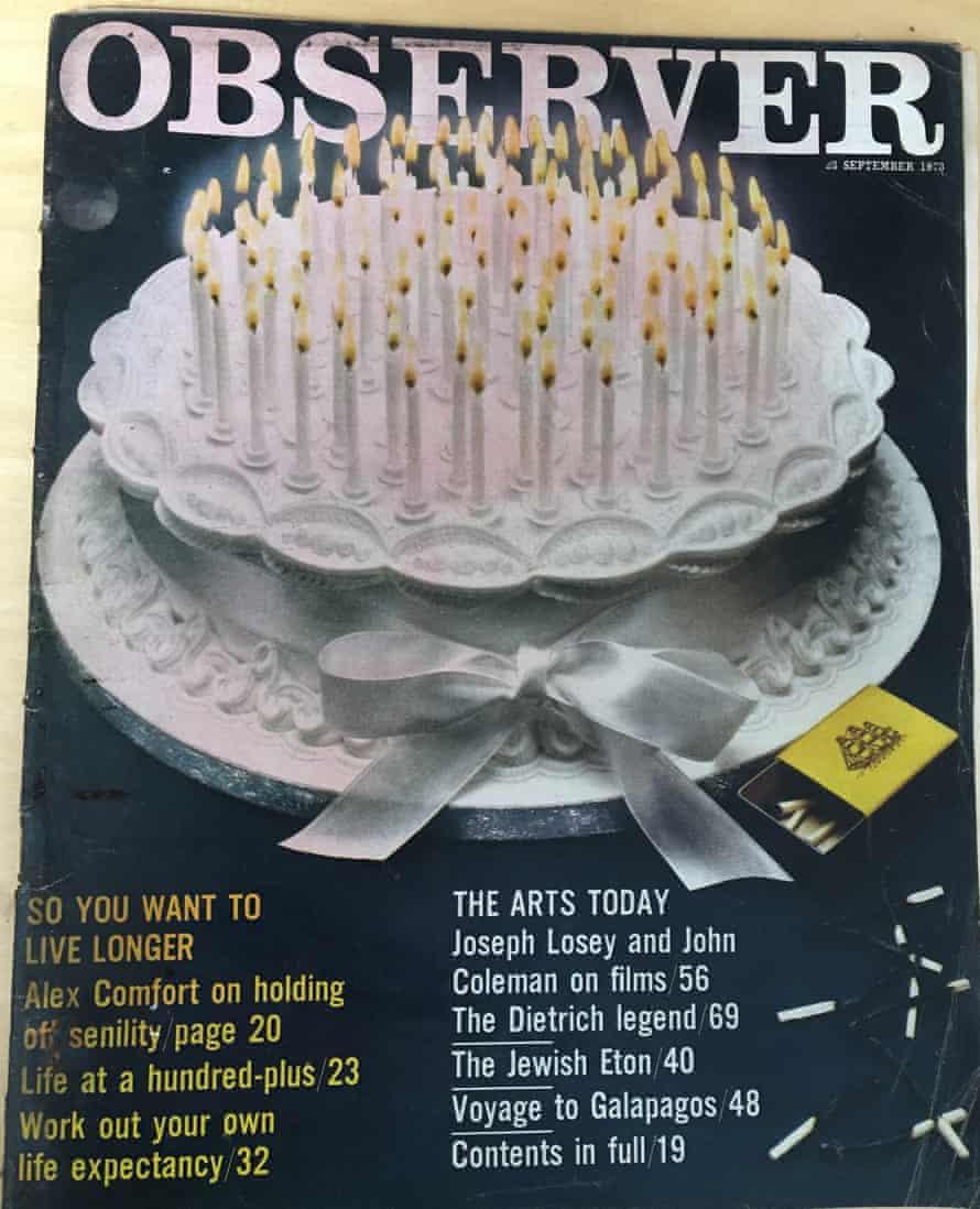 Making a century: how to live longer, September 1973.