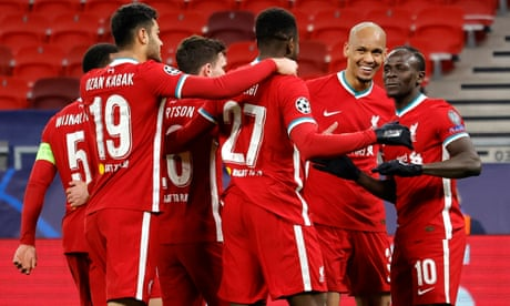 Liverpool 2-0 RB Leipzig (agg: 4-0): Champions League – as it happened