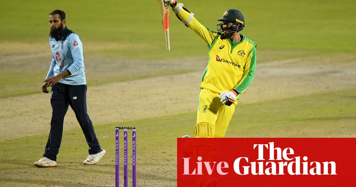 Australia beat England by three wickets to win ODI series – live reaction!