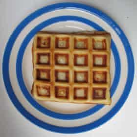 Molly Katzen's Belgian waffles.