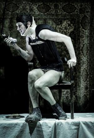 Lars Eidinger as Richard III