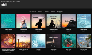 'No consistent musical identity' ... Just a selection of Spotify's 'chill' playlists.