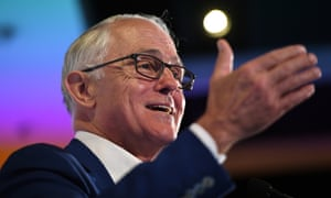 Former prime minister Malcolm Turnbull delivers an address at the NSW Smart Energy Summit in Sydney, Tuesday, December 4, 2018. (AAP Image/Dan Himbrechts) NO ARCHIVING