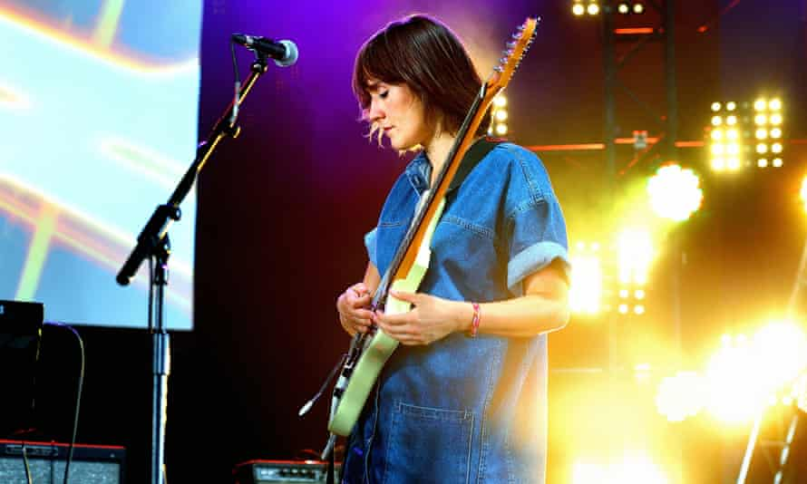 Cate Le Bon performs onstage at Blackheath Common, September 2015.