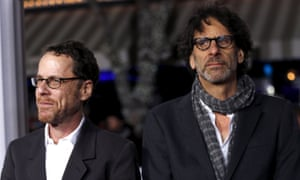 Ethan and Joel Coen at the premiere of Hail, Caesar! in Los Angeles on 1 February 2016.
