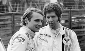 Born in Austria in 1949, Niki Lauda made his breakthrough into Formula One in 1971 with March Engineering. He's pictured here with Jody Schekter at the Race of Champions at Brands Hatch in the UK in 1973.