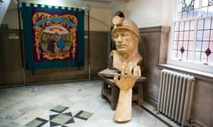 Inside Redhills, the home of the Durham Miners' Association.