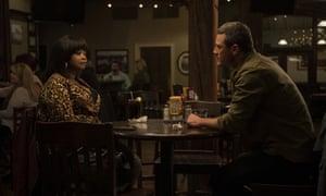 Octavia Spencer and Luke Evans in Ma.