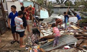 Tonga's capital of Nuku'alofa by Cyclone Gita – the most powerful cyclone ever recorded on the island.
