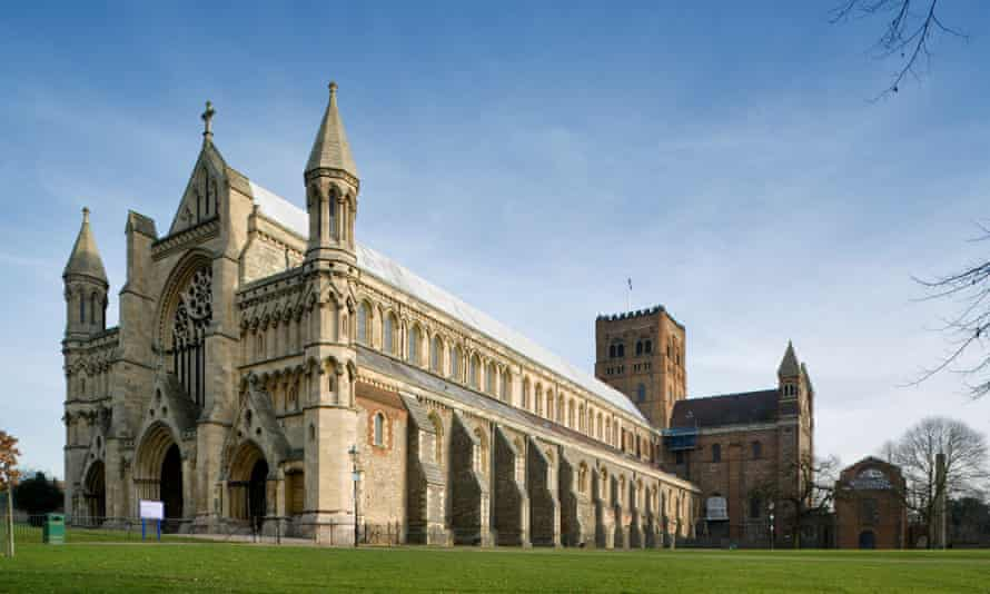 St Albans Cathedral, where tourism is helping to pay the bills.