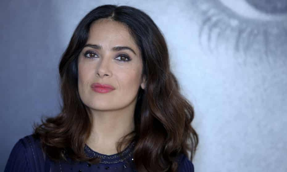 Salma Hayek said recently: 'It was unimaginable for a Mexican actress to aspire to a place in Hollywood.'