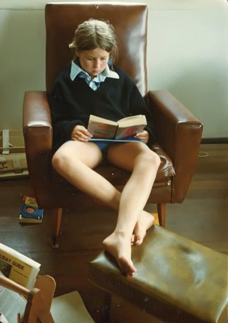 Australian author Tegan Bennett Daylight as a child