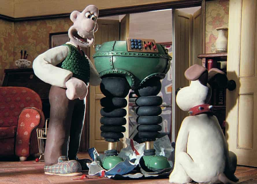 Still from The Wrong Trousers