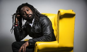 """Marlon James, the Jamaican novelist, has won the 2015 Man Booker Prize for Fiction for """"A Brief History of Seven Killings,"""" his fictional retelling of the 1976 attempted murder of Bob Marley. Photograph by Felix Clay"""