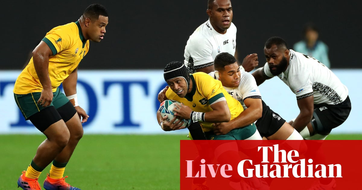 Australia v Fiji: Rugby World Cup 2019 – live!