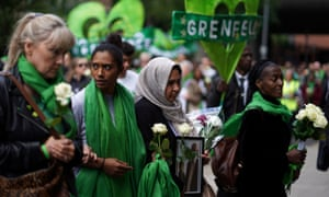 A march to mark two years since the Grenfell Tower fire in west London.