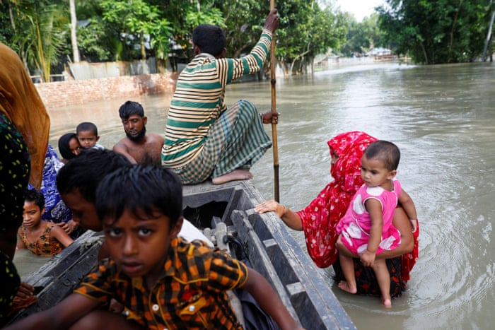 A critical situation': Bangladesh in crisis as monsoon floods follow  super-cyclone | Global development | The Guardian