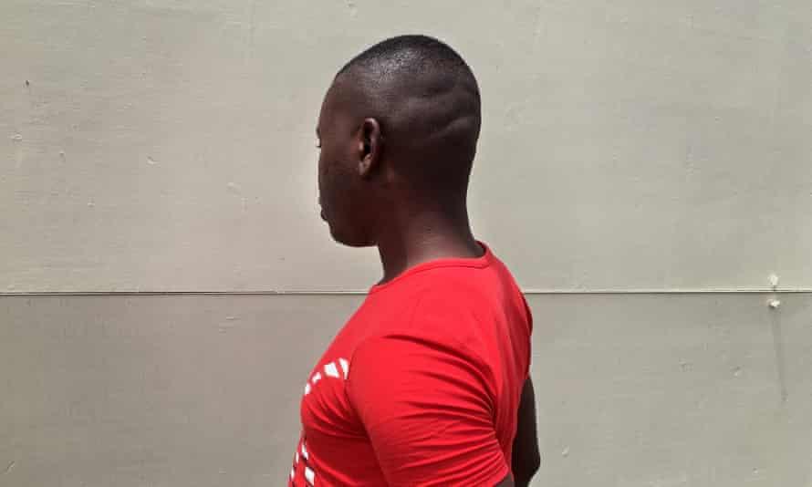 A member of the gay community in Dar es Salaam