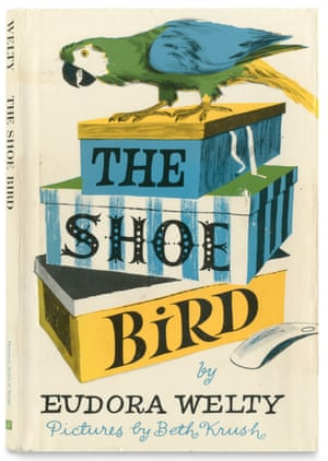 The cover of the book The Shoe Bird by Eudora Welty and illustrated by Beth Krush.