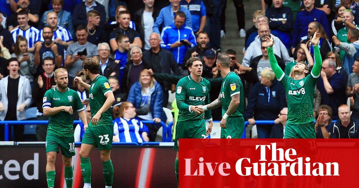 Huddersfield 0-2 Sheffield Wednesday: Championship – as it happened
