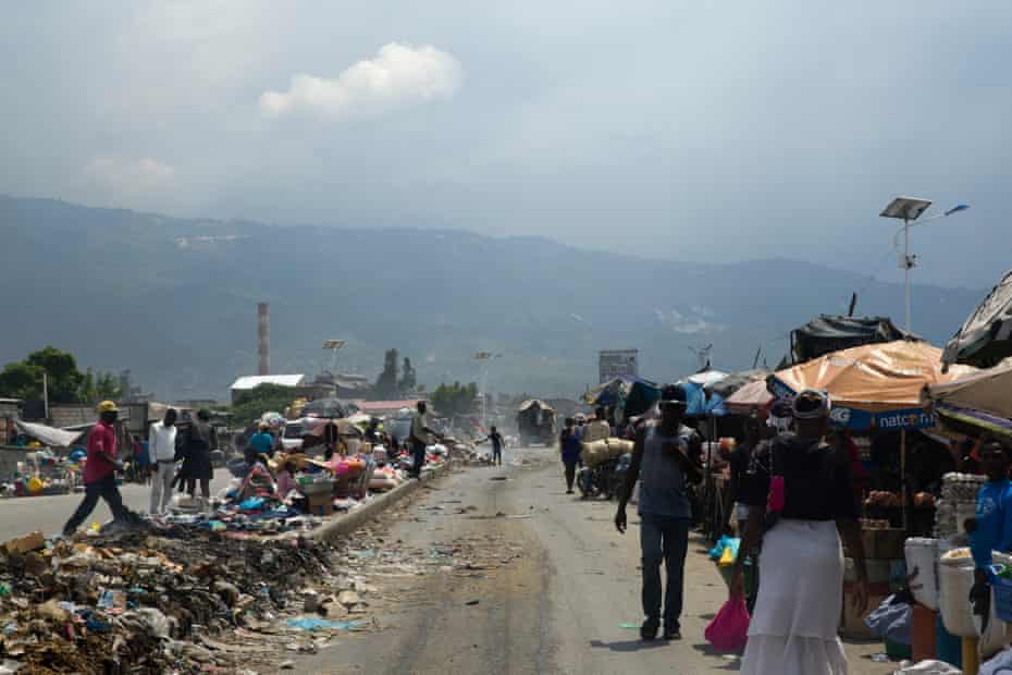 Cité Soleil is one of the areas hardest hit by the poverty that grips Haiti