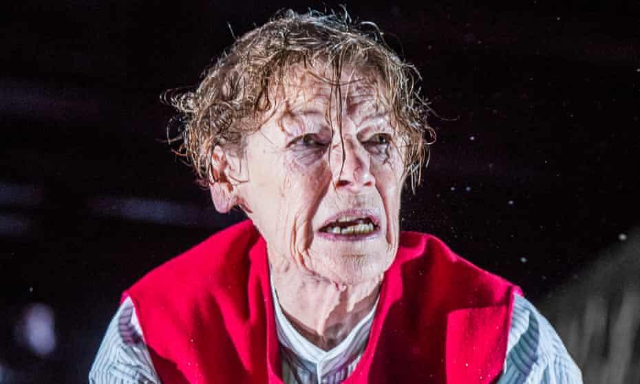 Glenda Jackson in King Lear.