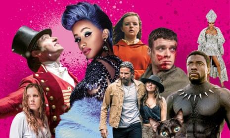 Sharp Objects; The Greatest Showman; Cardi B; Hereditary, A Star Is Born; Bodyguard; Cat; Black Panther; Rihanna.