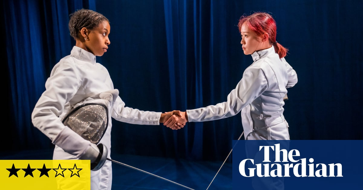 Athena review – teenage duellists take a hesitant stab at friendship