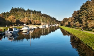 Caledonian Canal at Dochgarroch, Inverness
