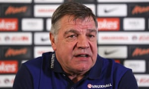 England manager Sam Allardyce is pushing the FA to find players who qualify for his side because of residence