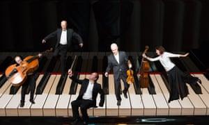 Great clarity … Schubert Ensemble.