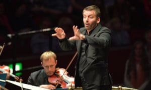 Wildly diverse textures … Matthias Pintscher conducts the BBC Scottish Symphony Orchestra in Prom 48