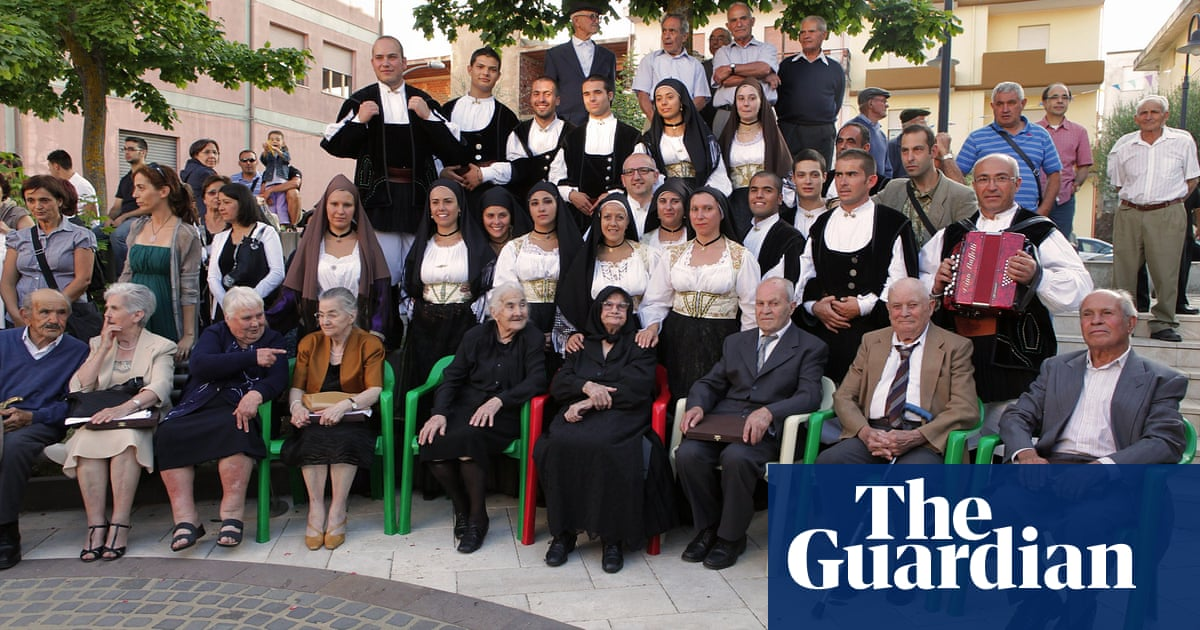 'If you talk, you live well': the remote Sardinian village with eight centenarians