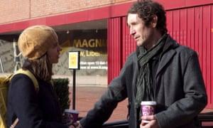 Raw honesty … Kate Hardie and Paul McGann in Brakes.