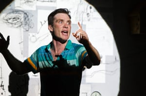 Cillian Murphy in the the world premiere of Ballyturk, 2014