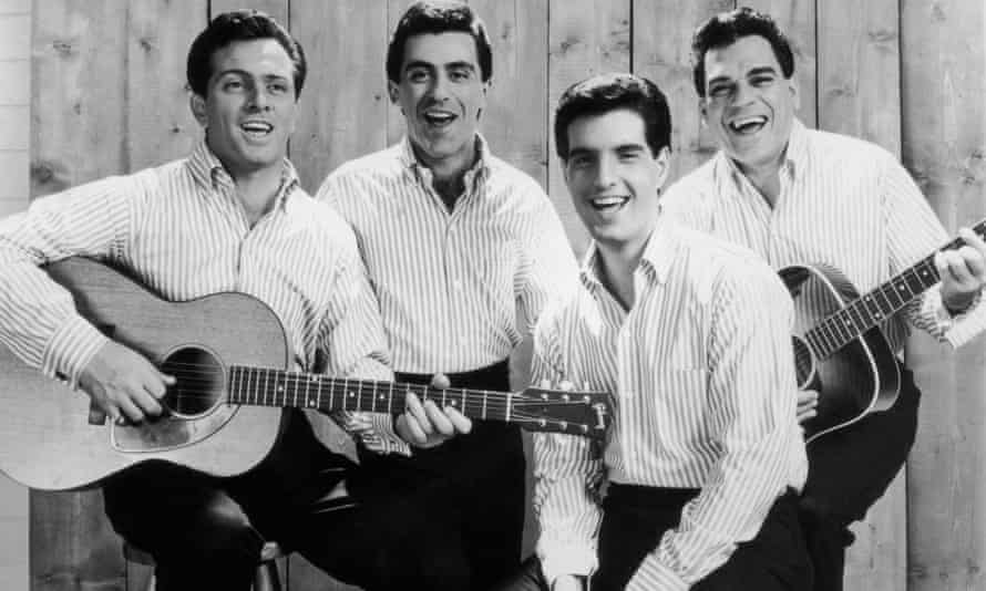 The Four Seasons in 1965: from left, Tommy DeVito, Frankie Valli, Bob Gaudio and Nick Massi.