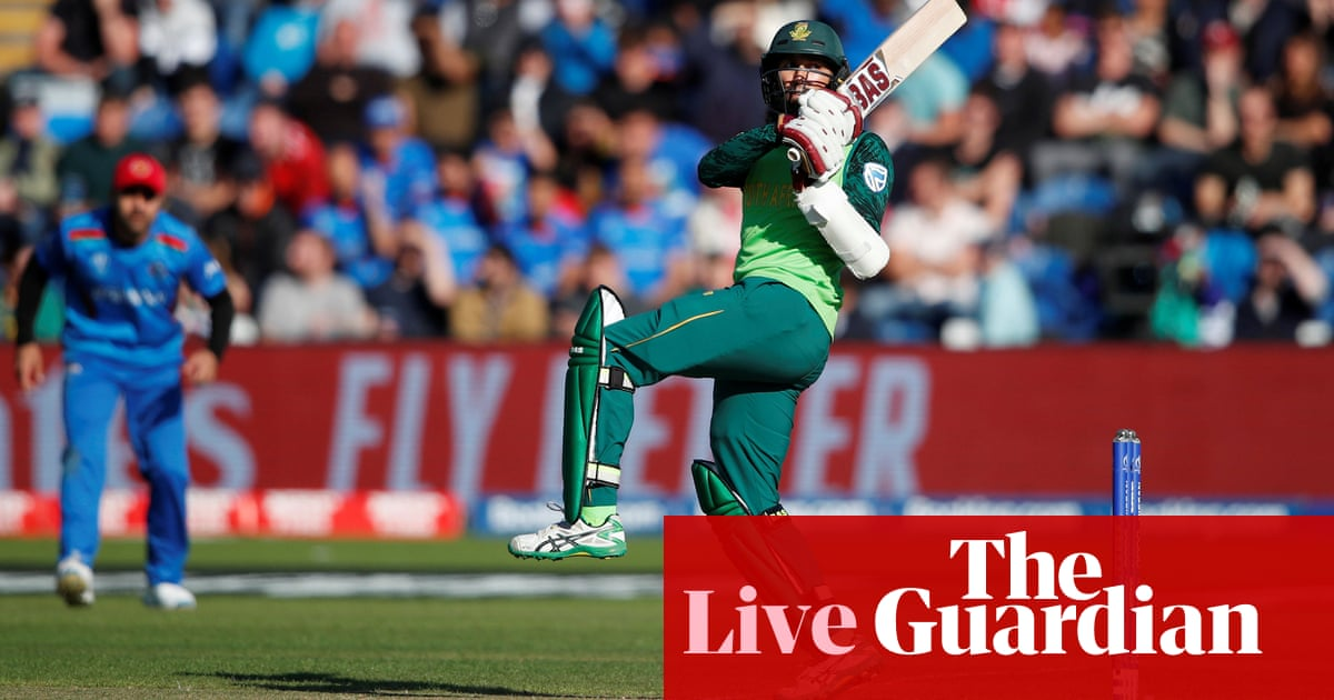 South Africa crush Afghanistan by nine wickets: Cricket World Cup