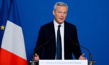 Bruno Le Maire, the French finance minister