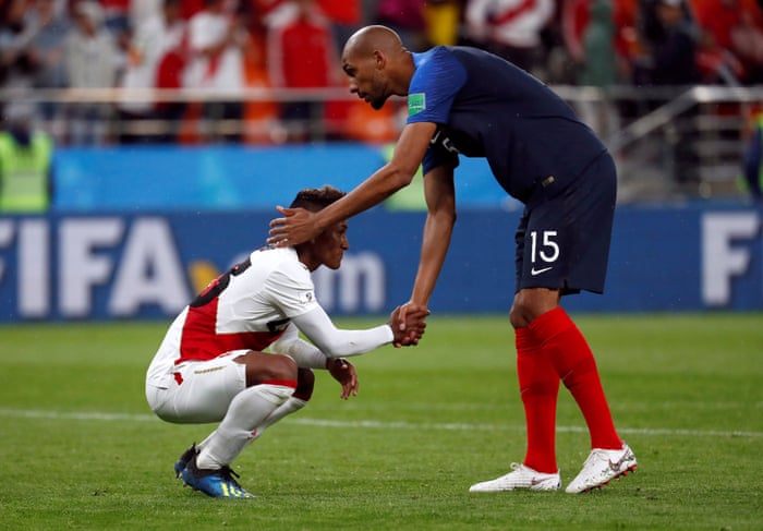 cc52be3a7 France 1-0 Peru  World Cup 2018 – as it happened