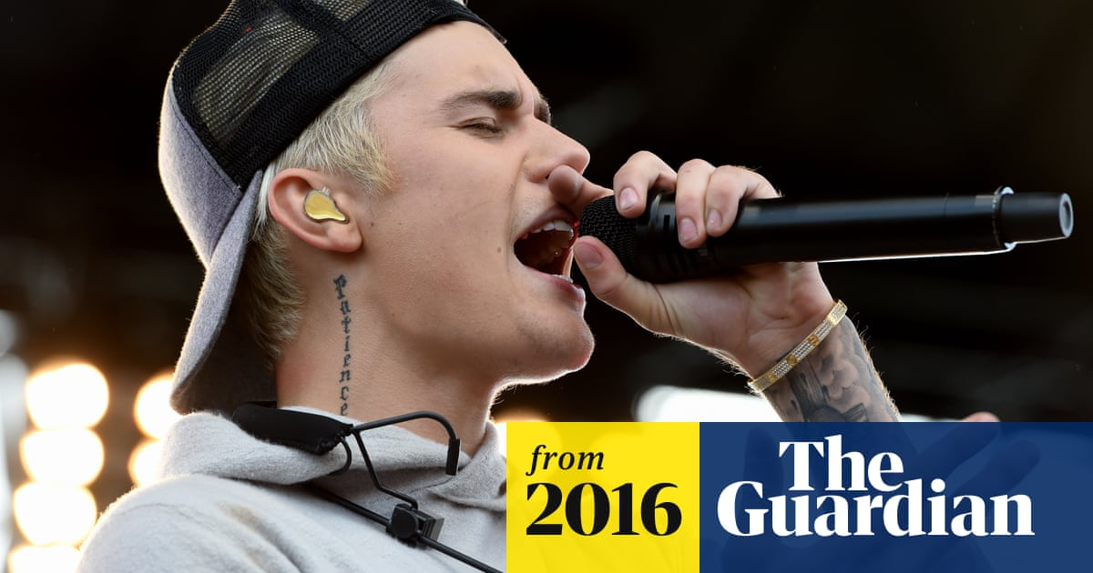 Justin Bieber becomes first artist to fill top three spots in UK
