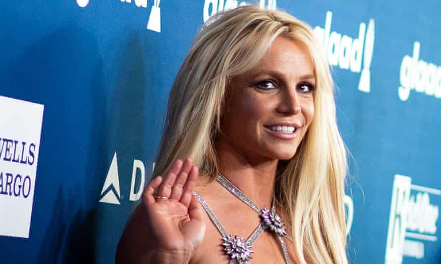 Britney Spears at the 29th annual Glaad Media Awards in Beverly Hills, California, 12 April 2018.