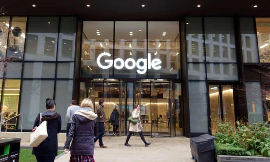 The Google office in St Pancras, London